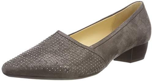Gabor Shoes Basic, Zapatos de Tacn para Mujer, Gris (Dark Fango 63), 39 EU