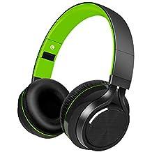 Alitoo Auriculares Bluetooth Inalámbrico Estéreo Plegable Headphones con Micrófono Incorporado Sobre Oreja Cancelación de Ruido para