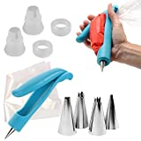 Tping Dekorieren Stift-Kits für Vereisung mit Düse, Zuckerglasur Düsenspitzen, Beutel, Schläuche, für Sugarcraft Kuchen Dekoration Zuckerguss