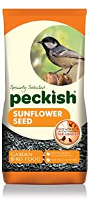 Peckish Sunflower Seeds for Wild Birds, 5 kg