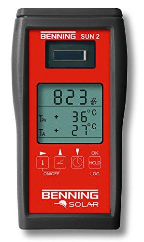 Benning SUN 2 Aparato de medición de temperatura de radiación, 050420