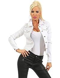 premium selection f80bb e2bd6 Suchergebnis auf Amazon.de für: weiße Jeansjacke - Jacken ...