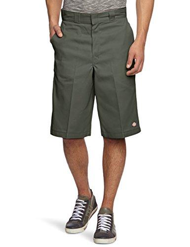 Dickies Herren Shorts 13in Mlt Pkt W/St, Gr. W34, Grün (Olive Green OG) (Walkshorts Shorts)