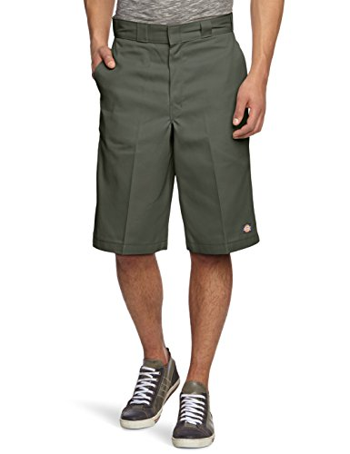 Dickies - 13in Mlt Pkt W/St, Pantaloncini sportivi Uomo, Verde (Olive Green), W40 (Taglia Produttore: 40)