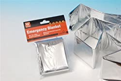 Emergency Compact Lightweight Blanket 132cm X 210cm