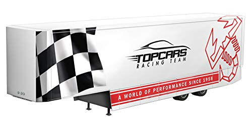 Italeri 3936 racing trailer model kit rimorchio camion plastica scala 1:24
