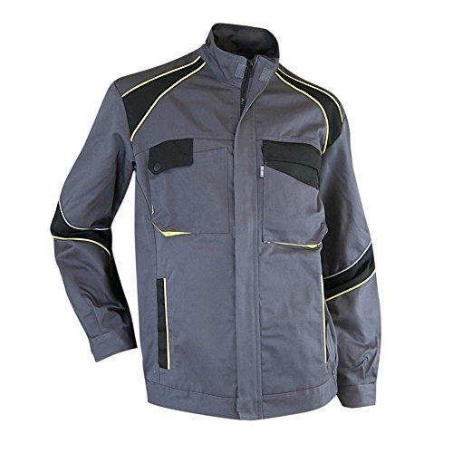 Preisvergleich Produktbild LMA 2057 SEMIS HOUE Jacke, Grau/Schwarz/Gelb, Größe 7
