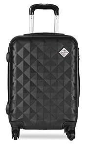 PRONTO Naples ABS 55 cms Black Hardsided Cabin Luggage (7807 - BK)
