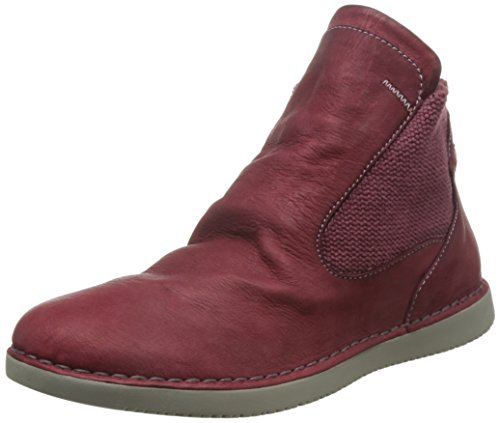Softinos TYA319SOF, Bottes Classiques femme Rouge - Rouge écarlate