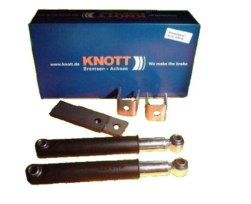 KNOTT kpl Set Achsstoßdämpfer für die 100 km/h Regelung, Anhänger Originalteile