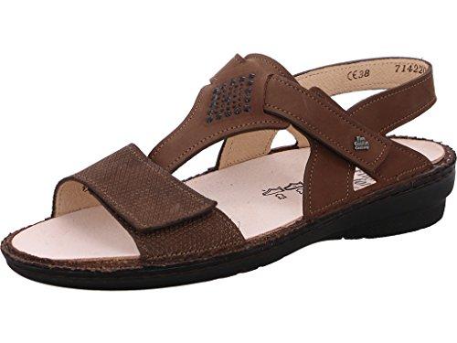 Cherokee Schuhe Für Frauen (FINNCOMFORT Damen Sandaletten Orense Wood Murano/Cherokee 2805-901604 braun 291082)