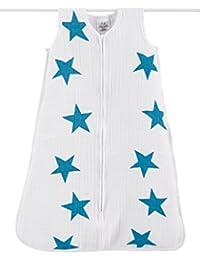 aden + anais Gigoteuse Légère Brilliant Étoiles Bleues 0-6 mois Blanc (S)
