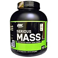 Optimum Nutrition Serious Mass Chocolate Weight Gain Powder 8 Servings 6 Lbs(2.72 Kgs)