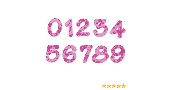"""Sizzix /""""Lollipop Shadow Numbers/"""" Alphabet Set 2 Bigz Dies by E.L Smith"""