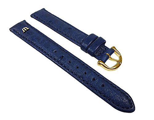 maurice-lacroix-replacement-band-watch-band-ostrich-leather-strap-blue-22628g-width15mm