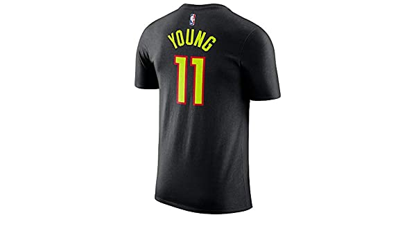 Outerwears Trae Young Atlanta Hawks #11 Name and Number Youth T-Shirt