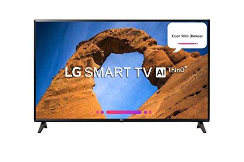 LG 109.3 cm (43 inches) 43LK5360PTA Full HD LED Smart TV (Black)