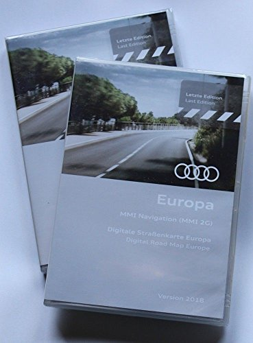 Audi Navigations DVD Europa 2018 MMI 2G Navigation Navi DVD A4 A5 A6 A8 Q7