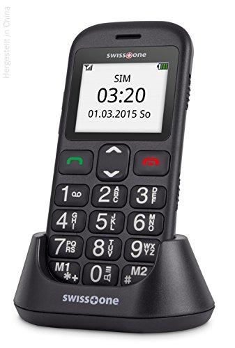 swisstone BBM 320c – GSM-Mobiltelefon mit großem beleuchtetem Farbdisplay, schwarz - 5