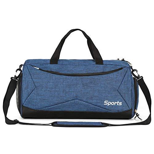 Oshide Sport Fitness Bag Männer und Frauen Schulter Handtaschen Gepäck Pack trocken und nass Artikel Trennung Schwimmsack Männer Messenger Bag Sport Sporttasche -