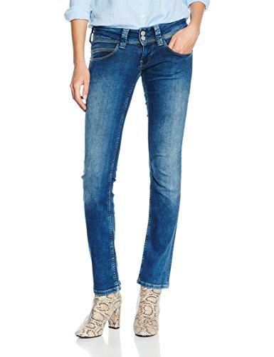 Pepe Jeans Venus, Donna, Blu (Denim 000-d66), W28/L32 (Taglia Produttore: 28)
