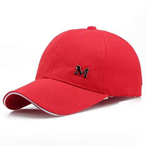 CENDAY Mode für Männer und Frauen Sommer einfache Baseball Mütze One Size Atmungsaktiv Campinghut Wanderhut Gartenhut