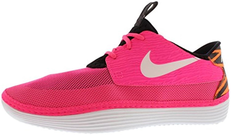 Nike Mens Solarsoft Moccasin, Pink Flash/Black/Atomic Orange, 44 D(M) EU/9 D(M) UK