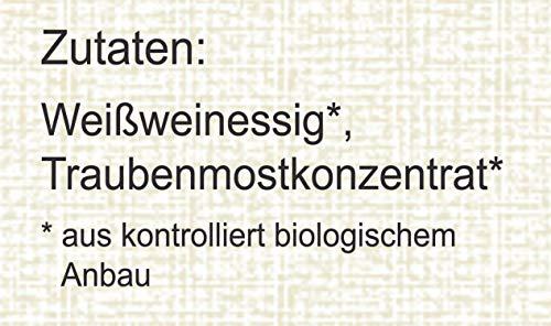 direct&friendly Bio Condimento Balsamico weißer Bianco, 500 ml