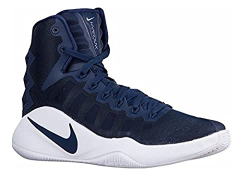 Nike Herren Hyperdunk 2016 TB Basketballschuhe, Azul (Midnight Navy / Midnight Navy-White), 45 EU
