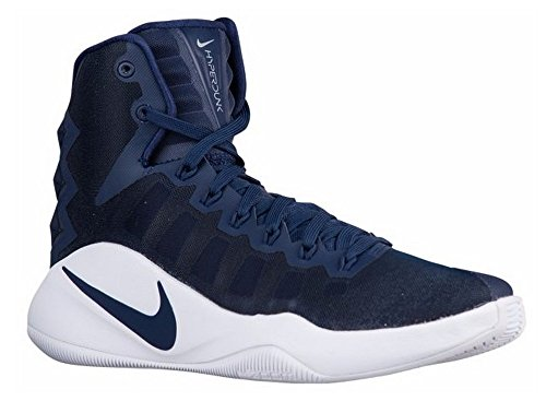 Nike Hyperdunk 2016 Tb, Chaussures de Sport-Basketball Homme Azul (Midnight Navy / Midnight Navy-White)