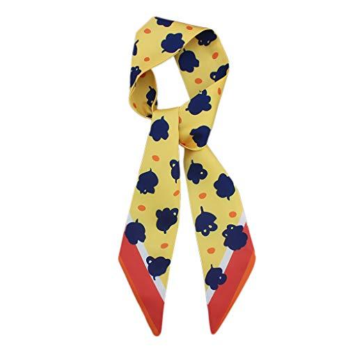 Oliviavan Damen Krawatte Schal Herbstschal Elegant Krawatte Kragen -
