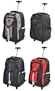 Cabin Laptop Backpack Wheeled Hiking Trekking Work Rucksack Lightweight HL09L