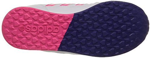Adidas Switch Vs K, Scarpe per bambini, Ragazza Ftwr White/Solar Pink/Collegiate Purple