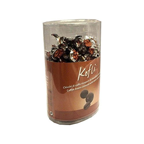 Zaini Kofli Coffee beans covered with dark chocolate 350g Ovale-Dose (Kaffeebohnen in dunkler...