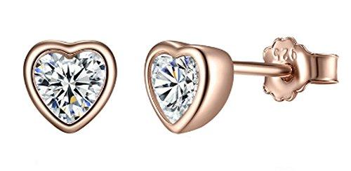 saysure-925-sterling-silver-love-heart-stud-earrings