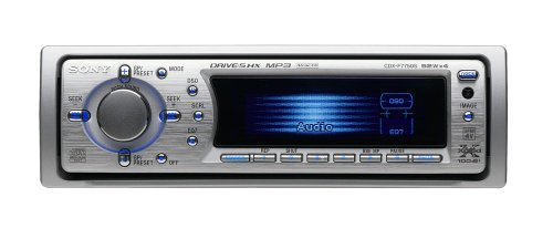 Sony CDX-F 7750 S MP3 CD-Tuner Silber