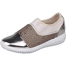 Zapatillas para Mujer,Mujeres al Aire Libre Estiramiento Tejido Zapatos Casuales Suelas cómodas Casual Running