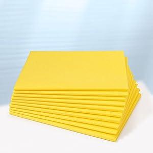 Dr. Güstel Waschfaserlaken ® plus gelb 80x210cm 1 Stück Vlieslaken für Behandlungsliegen OEKO-TEX®-zertifiziert