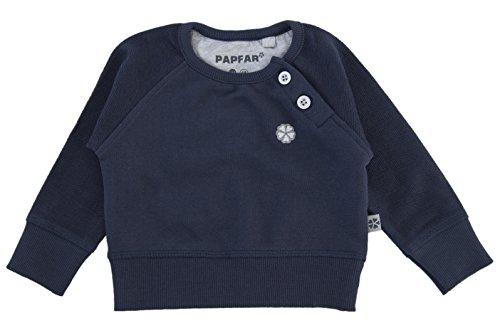 Papfar - Sweat-Shirt bébé Garçon - Bleu - 56 cm