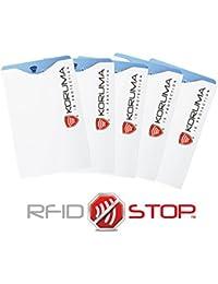 Étui protége des cartes de crédit, débit bloquant les signaux RFID / NFC, protection portefeuille Titulaire KUK-70 (5)