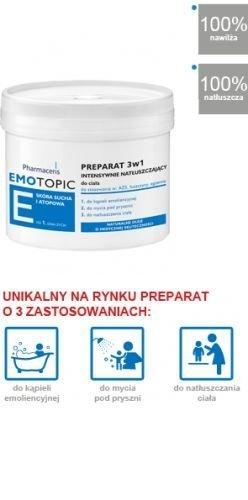 PRÄPARAT 3 in 1 intensiv fettend für den Körper zum Baden, Duschen und Pflegen (400 ml)