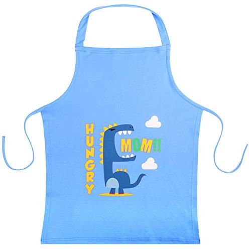 Nuovoware Kinder Schürze, Niedlicher Kartoon Baumwoll Küchenschürze wiederverwendbare kleine Schürze 22