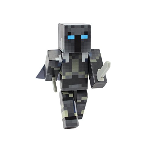 Iron Armor Crusader Action Figure Toy by EnderToys [Not an Official Minecraft Product]