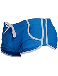 SODACODA Men's Swimming Trunks – Swimwear Shorts with Pockets and front Rope Tie (S-XL)