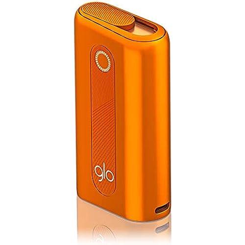 glo hyper Sigaretta Elettronica 2020 - Dispositivo per Scaldare il Tabacco Kit senza Nicotina e senza tabacco, Orange - 370 g