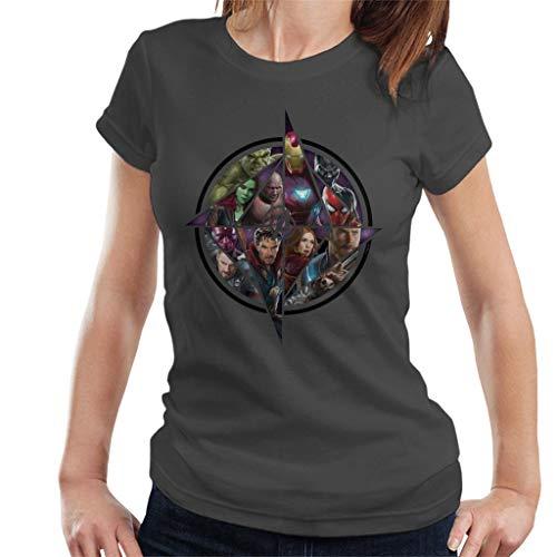 Marvel Avengers Infinity War Character Montage Women's T-Shirt