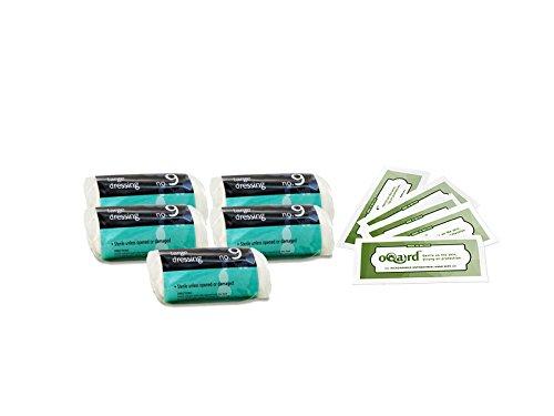 reliance-no-9-large-dressing-steril-x5-mit-oqard-antibakterielle-feuchttucher
