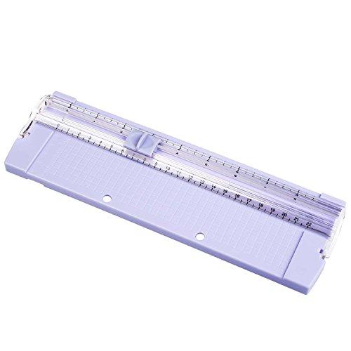 Preisvergleich Produktbild Cobee Papierschneidemaschine kleine Rollenschneider Hebelschneider Schnittlänge 210mm A4 A5 Multifunktion für Kunsthandwerk Home Office