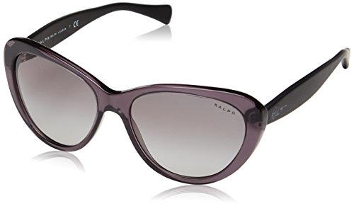 Ralph - occhiali da sole ra 5189 occhi di gatto, donna, 138311, gray/satin black, gray grad