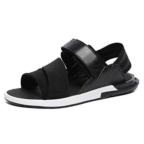 's Roman Schuhe Sport Sandalen Herren Gezeiten Sommer koreanische Mode Herrenschuhe coole Hausschuhe Casual Strand Schuhe ( Farbe : Weiß , größe : EU42/UK8.5/CN43 ) ()